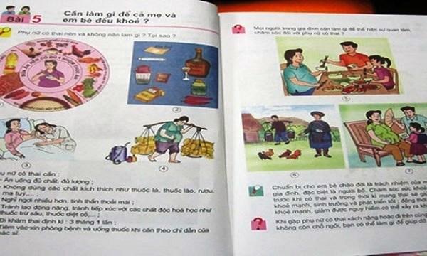 """sgk lac hau: mat 3 lop chi de hoc """"go may tinh 10 ngon""""? - 2"""