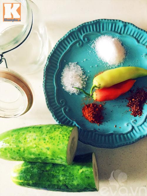 Dưa chuột muối chua cay chống ngán ngày Tết-1