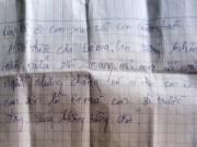 Pháp luật - Nam sinh lớp 9 tự tử để lại thư tuyệt mệnh