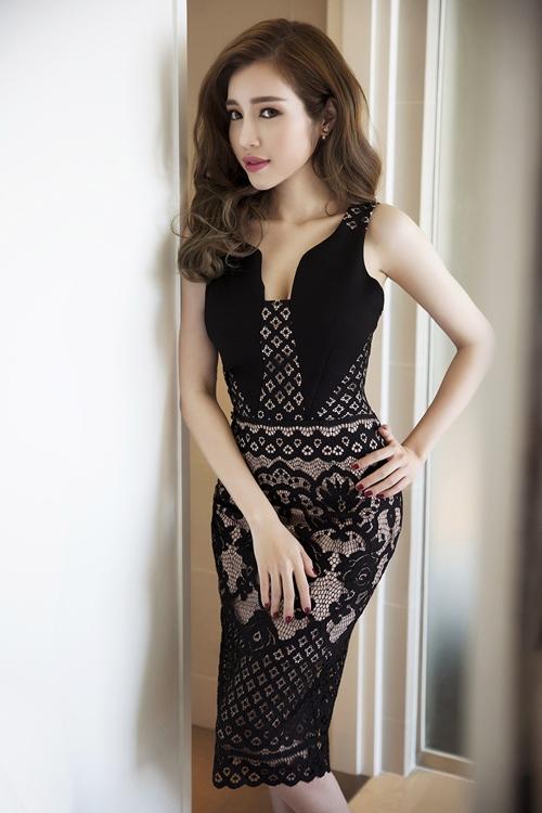 elly tran khoe duong cong dang ghen ti chi 1 thang sau sinh - 14