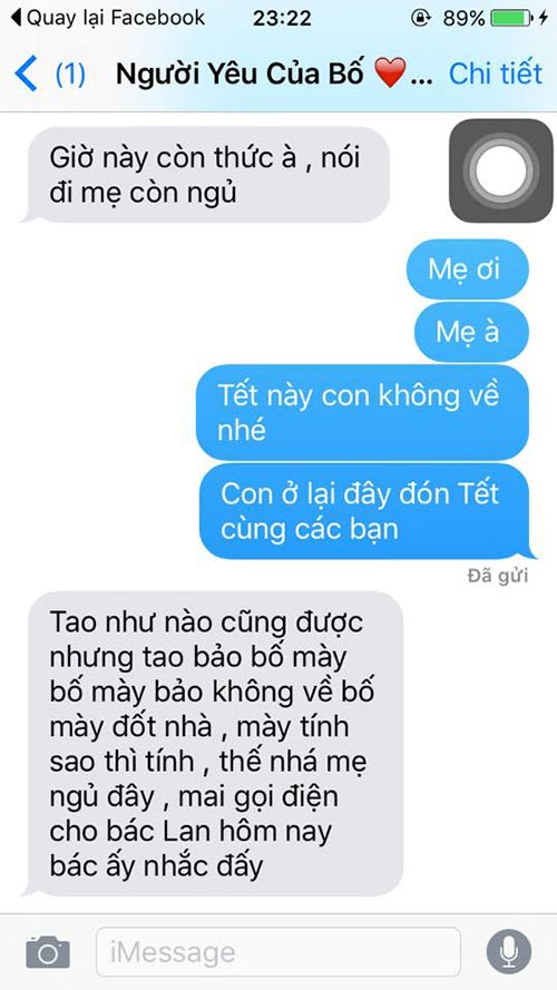 """ran ran"" trao luu nhan tin cho me ""tet nay con khong ve"" - 6"
