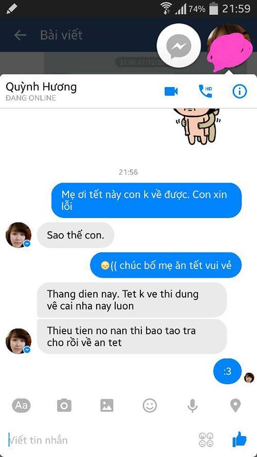 """ran ran"" trao luu nhan tin cho me ""tet nay con khong ve"" - 12"