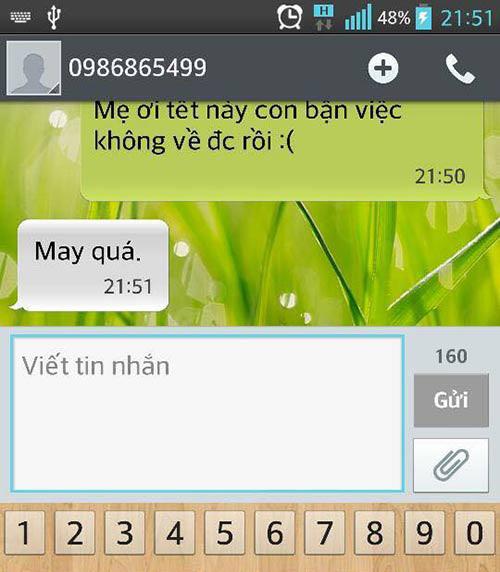"""ran ran"" trao luu nhan tin cho me ""tet nay con khong ve"" - 14"
