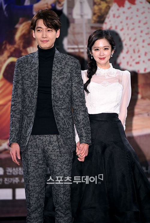 "jang nara tre trung xinh dep ben ""dan em"" jung kyung ho - 2"