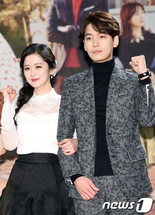 "jang nara tre trung xinh dep ben ""dan em"" jung kyung ho - 3"