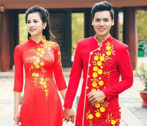 ao dai do tha thuot cung chang don xuan - 1