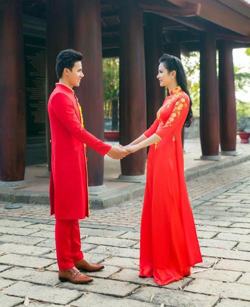 ao dai do tha thuot cung chang don xuan - 6