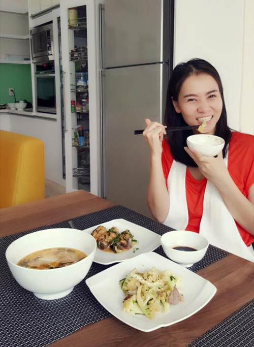 "tu long hanh phuc ben con gai sau gio tap ""tao"" - 14"
