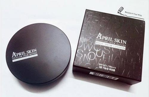 nghe tin do lam dep viet review cushion april skin - 2