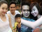"""Làng sao - Hùng Thuận quay lại với vợ """"hot girl"""" sau 2 năm ly thân"""