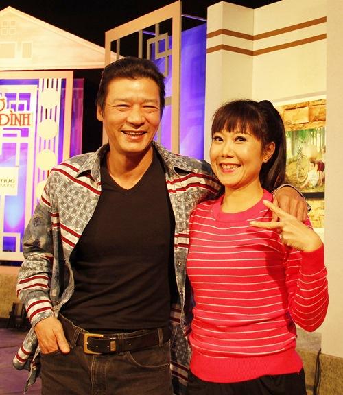 """nghe si huong """"tuoi"""": khong phuc neu chong chi biet nem tien ve - 2"""