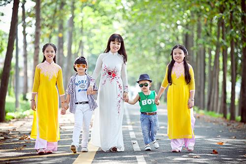 Ngày Tết thú vị ở gia đình bà mẹ 4 con Đồng Nai-1