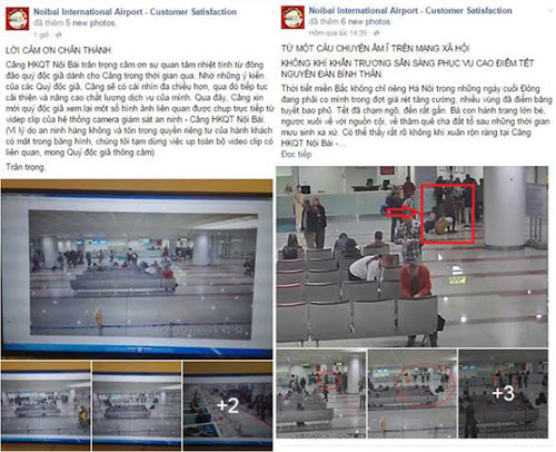 """san bay noi bai len tieng vu """"voi vinh"""": nguoi to tren facebook noi gi? - 2"""