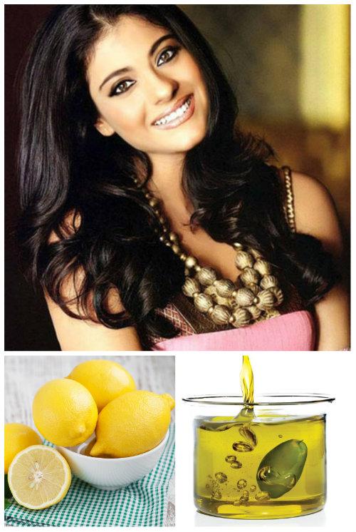 Với phụ nữ Ấn Độ, bí quyết để sở hữu mái tóc đẹp tự nhiên mà không cần đến mỹ phẩm chính là hỗn hợp nước cốt chanh và dầu olive.