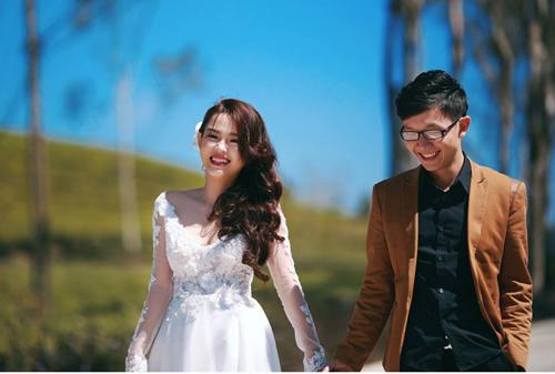 Đẹp mê hồn bộ ảnh cưới ngập tràn sắc hoa ngày xuân-13