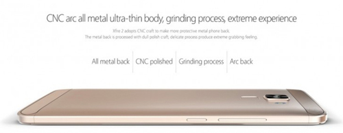 bluboo xfire 2: smartphone thiet ke kim loai, cam bien van tay voi gia chi 60 usd - 3