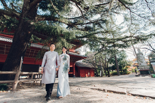 Cặp đôi tỏ tình trên đất Nhật ngay lần đầu gặp mặt-6