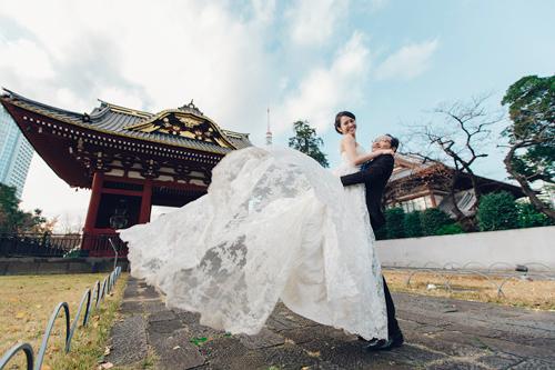 Cặp đôi tỏ tình trên đất Nhật ngay lần đầu gặp mặt-9