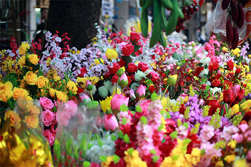 cuoi nam, chi em do xo di cho hoa co nhat ha thanh - 3