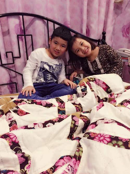 con trai khanh thi - phan hien mat tron xoe dang yeu - 12