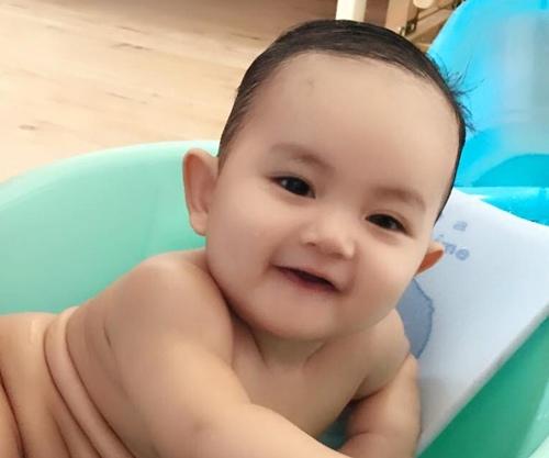 con trai khanh thi - phan hien mat tron xoe dang yeu - 3