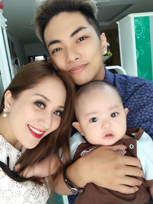 con trai khanh thi - phan hien mat tron xoe dang yeu - 6