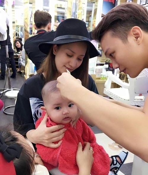 con trai khanh thi - phan hien mat tron xoe dang yeu - 5