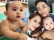 Làng sao - Con trai Khánh Thi - Phan Hiển mắt tròn xoe đáng yêu