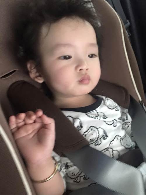 hh diem huong cho con trai 1 tuoi di lam toc don tet - 2