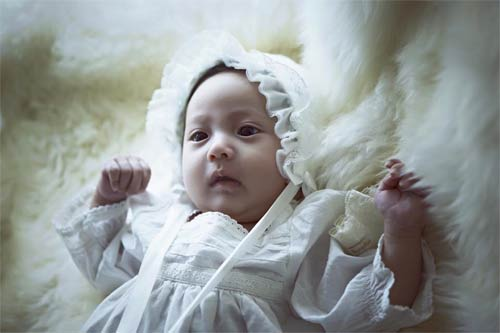"""Con gái Hà Kiều Anh 3 tháng tuổi """"trổ tài"""" làm mẫu nhí-6"""