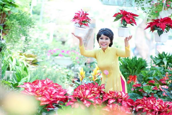 viet huong, quang ha mac ao dai dao pho hoa - 8