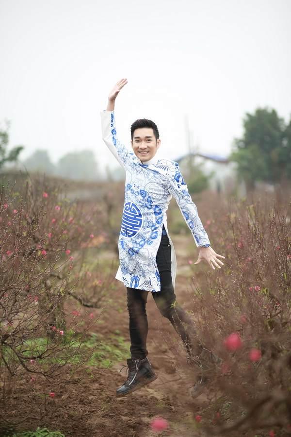 viet huong, quang ha mac ao dai dao pho hoa - 14