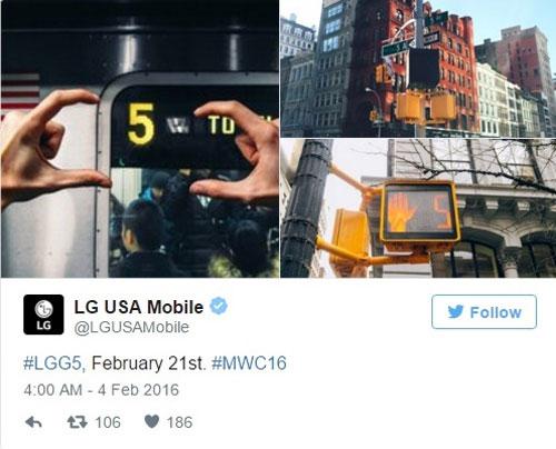 LG xác nhận ra mắt smartphone G5 vào 21/2-5