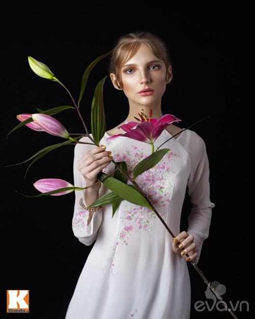 Chuyện tình yêu của cô gái Nga và áo dài Việt-7