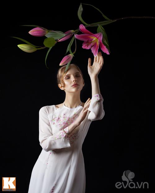 Chuyện tình yêu của cô gái Nga và áo dài Việt-5