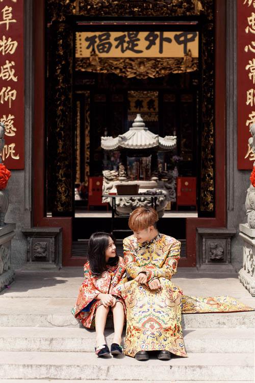 Mẫu nhí nổi tiếng Sài Gòn siêu cá tính khi mặc áo dài-5
