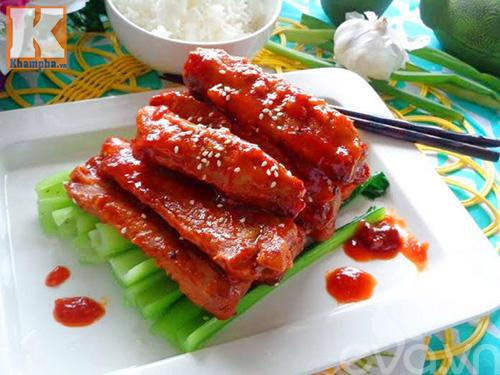 Sườn rim chua ngọt ngon cơm ngày Tết-6