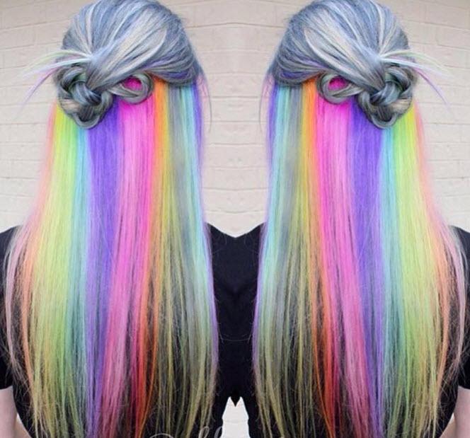 Đầu xuân, nhuộm tóc underlight để rực rỡ cả năm-3