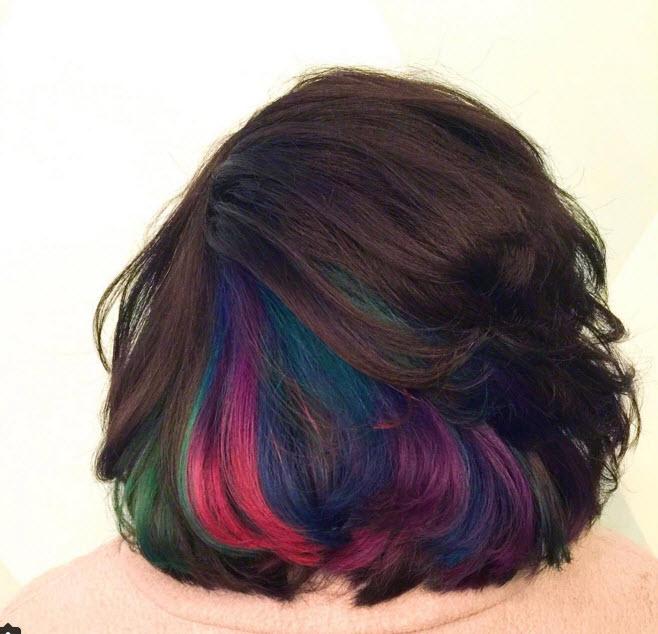 Đầu xuân, nhuộm tóc underlight để rực rỡ cả năm-2