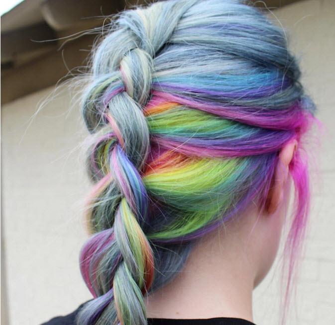 Đầu xuân, nhuộm tóc underlight để rực rỡ cả năm-6