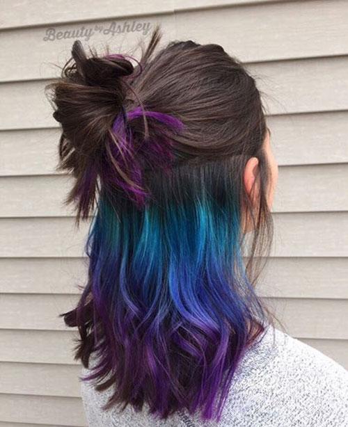 Đầu xuân, nhuộm tóc underlight để rực rỡ cả năm-4