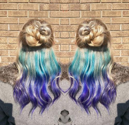 Đầu xuân, nhuộm tóc underlight để rực rỡ cả năm-5