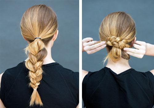 10 kiểu tóc làm trong 10 giây dành cho ngày đầu năm mới-12