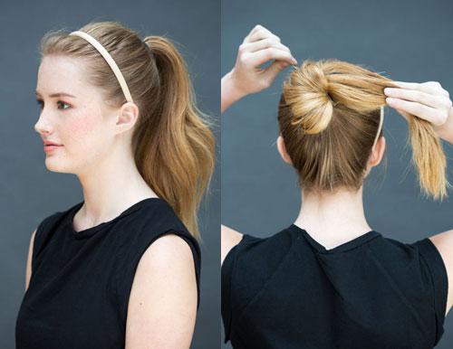 10 kiểu tóc làm trong 10 giây dành cho ngày đầu năm mới-14
