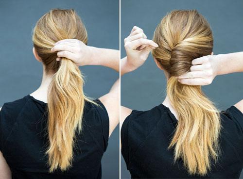 10 kiểu tóc làm trong 10 giây dành cho ngày đầu năm mới-16