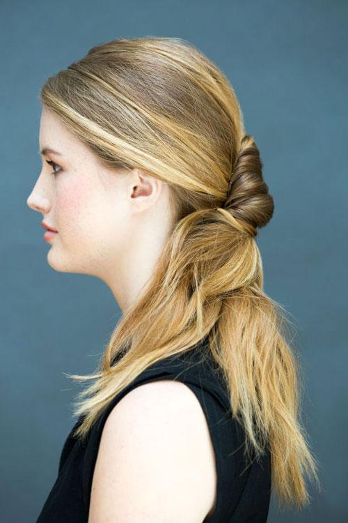 10 kiểu tóc làm trong 10 giây dành cho ngày đầu năm mới-15
