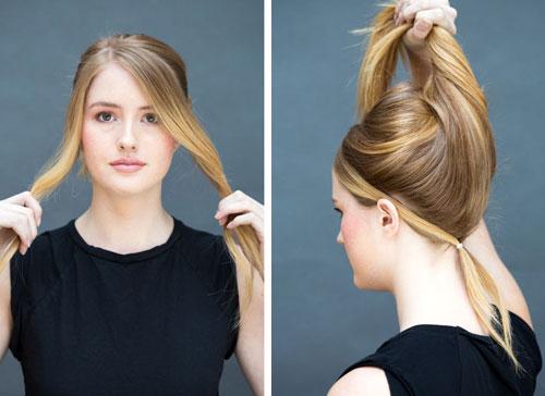 10 kiểu tóc làm trong 10 giây dành cho ngày đầu năm mới-18