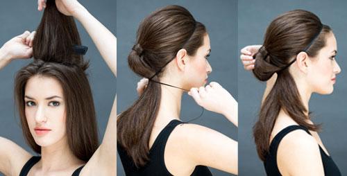 10 kiểu tóc làm trong 10 giây dành cho ngày đầu năm mới-6