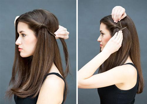 10 kiểu tóc làm trong 10 giây dành cho ngày đầu năm mới-2
