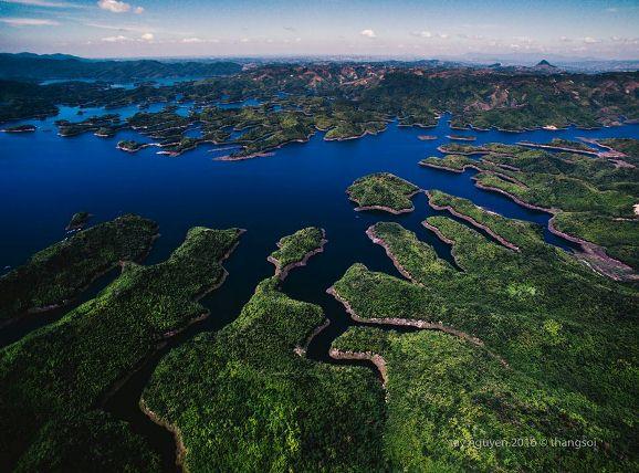 Bộ ảnh tuyệt đẹp về Việt Nam nhìn từ trên cao-19